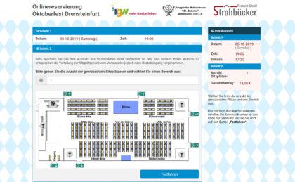 Referenz 2019<br>Oktoberfest<br>Drensteinfurt